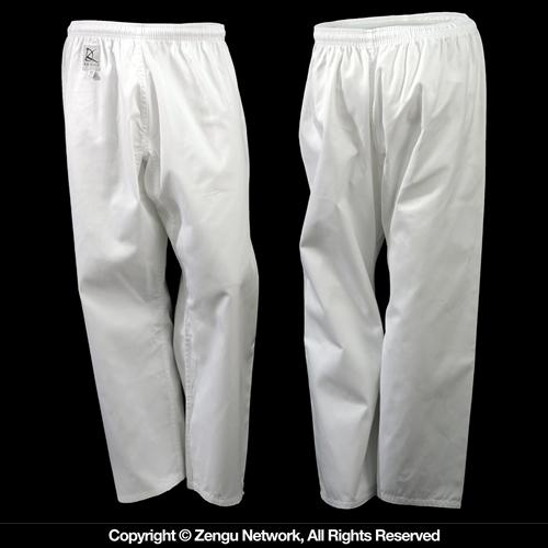 KD Elite Lightweight Classic White Karate Pants